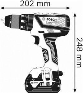 perceuse à percussion sans fil Bosch-pro-06019H0000-18V-2